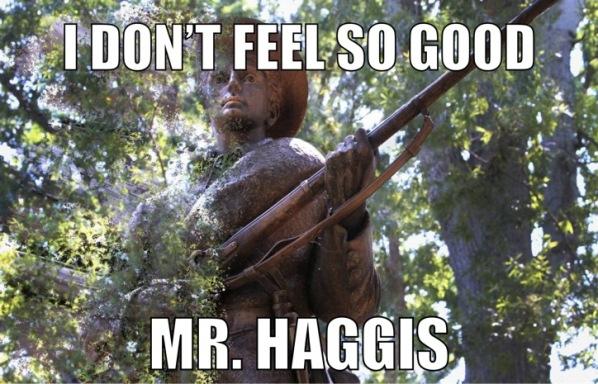Mr. Haggis